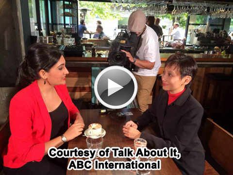 Click Here to Watch Yvonne Ho's Interview with Del Irani from ABC TV Channel
