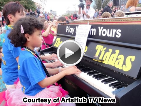 Click Here to Watch Play Me, I'm Yours Melbounre On ArtsHub TV News