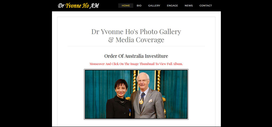 Click Here to Read More of Dr Yvonne Ho's Photo Gallery & Media Coverage