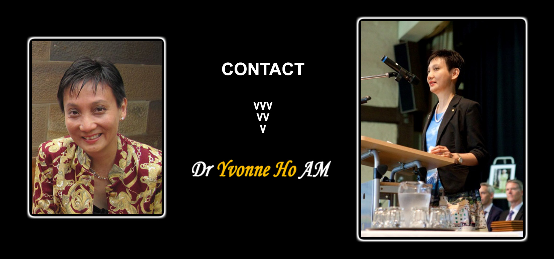 Welcome to Dr Yvonne Ho Website.
