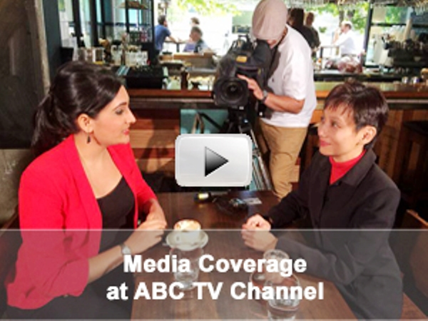 Yvonne Ho's Interview with Del Irani from ABC TV Channel